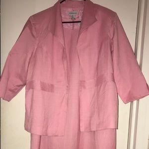 Jessica London 2 piece Blazer & Sleeveless Dress
